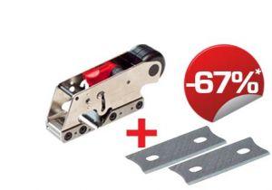 Set Simshobel G03 + 2 Hartmetallmesser