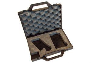 Leerer Koffer für Simshobel
